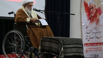 Photo of Sheikh Qassim to Address Ceremony on Bahraini Revolution Anniversary