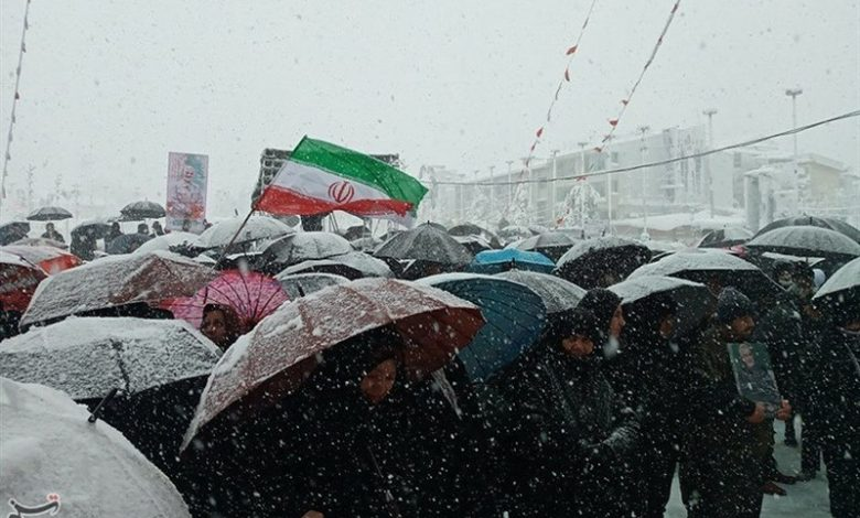 Photo of PHOTOS: Iranians Stage Massive Rallies to Mark Islamic Revolution Anniversary