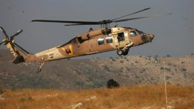 Photo of Zionist regime helicopters fire missiles at Syrian army positions, three soldiers injured