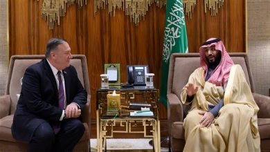 Photo of Zionist Pompeo drums up 'Iran threat' on visit to Slaughterer Rabid Mbs