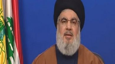 Photo of Gen. Soleimani master of Axis of Resistance's martyrs: Nasrallah
