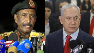 Photo of Rabid zionist Netanyahu, Sudan's ruling council chief meet in Uganda, sparking Palestinian ire