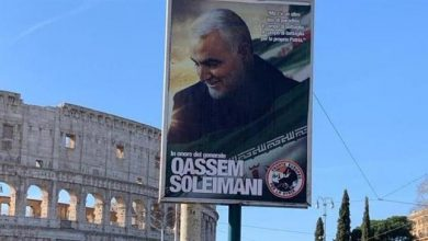 Photo of Europe honors Gen. Soleimani: Posters adorn cities across Italy