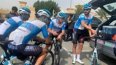 Photo of Zionist regime team races in UAE cycling tour amid thawing ties