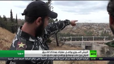 Photo of VIDEO: Footage of Syrian Army's new points along Aleppo-Damascus Highway
