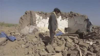 Photo of Iran: Saudi airstrike on Yemenis, near downed jet, war crime