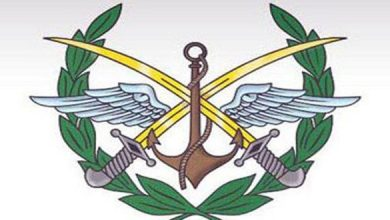 Photo of Syrian Army Command: Any Violation of Syrian Airspace Will Be Dealt with as External Military Aggression