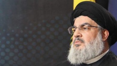 """Photo of Sayyed Nasrallah Speaks at """"Martyrdom & Insight"""" Ceremony on February 16"""