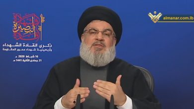 Photo of Sayyed Nasrallah Hails Courage of Lebanese PM, Ministers: Hezbollah Fully Supports New Govt.
