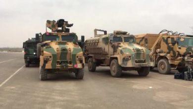 Photo of Nearly 200 Turkish military vehicles enter Syria's Idlib