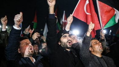 Photo of Turkish Protesters Rally Against Zionist Trump's 'Deal of the Century' in Istanbul