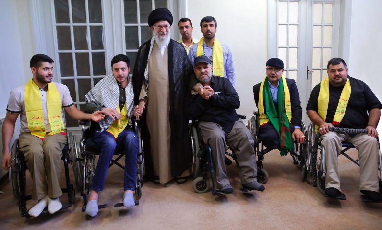 """Photo of """"Disabled war veterans are living martyrs"""""""