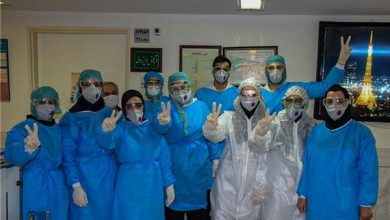 Photo of Iranian Knowledge-Based Firm Makes Disinfecting Gate for Corona Medical Staff