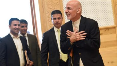 Photo of Afghan presidential rivals hold parallel inauguration ceremonies