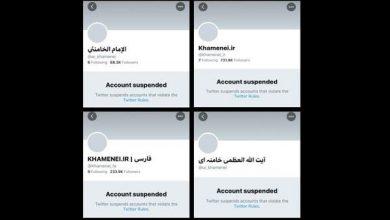 Photo of Zionist Twitter Suspends Leader of Islamic Ummah Imam Sayyed Ali Khamenei Accounts