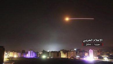 Photo of Syrian air defenses intercept 'israeli' missiles: Reports