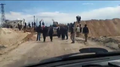 Photo of VIDEO: Terrorists cutoff of strategic M-4 Highway once again