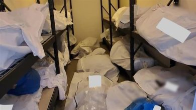 Photo of Disturbing photos show bodies piled up in Detroit hospital