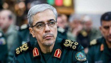 Photo of Iranian military chief calls Israel and US 'vampire enemies'