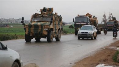 Photo of Turkey sends another military convoy to de-escalation zone in Syria's Idlib