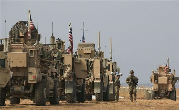 Photo of Great Satan US allegedly moves military equipment out of Iraq, into Syria