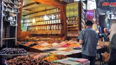 Photo of Photos- Syrian markets with the approach of the holy month of Ramadan