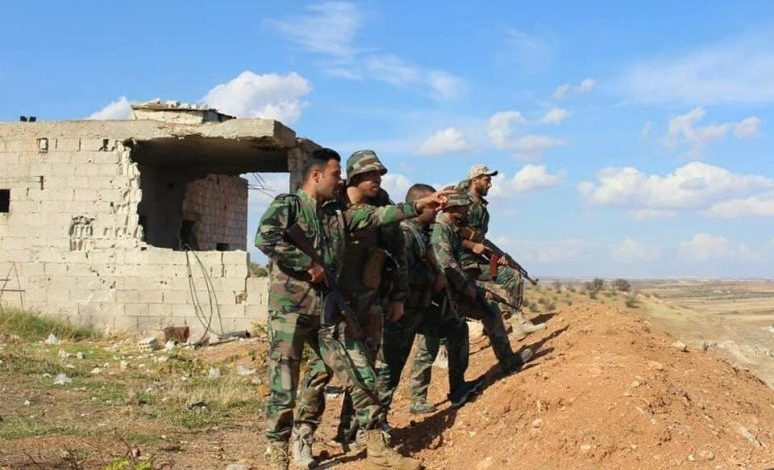 Photo of Syrian Army and terrorists engage in heavy clashes in southern Idlib