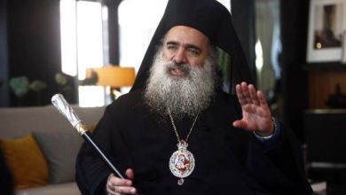 Photo of Palestinian archbishop calls for lifting of sanctions against Syria