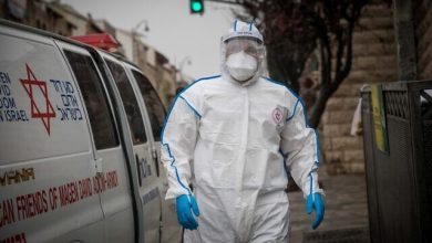 Photo of Zionist Entity: Coronavirus Cases Near 5,600, Death Toll Reaches 22