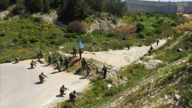 Photo of Lebanese Army Troops Stand by in Face of Zionist Regime's Border Incursion: Enemy Withdraws