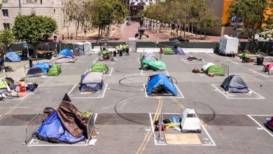 Photo of San Francisco sanctions once-shunned homeless encampments