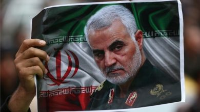 Photo of General Soleimani: Iran Not to Leave Palestine Alone