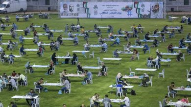 Photo of Palestinians in besieged Gaza mark International Quds Day
