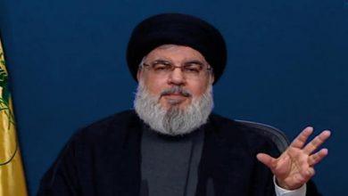 Photo of Hezbollah Leader Vows Crushing Response to Any 'israeli' Attacks