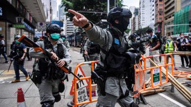 Photo of Hong Kong security chief warns about 'rising terrorism' as anti-govt. protesters return to streets