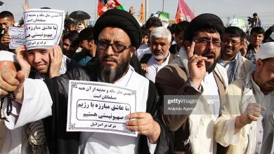 Photo of Afghans mark the International Quds Day