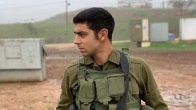 Photo of Zionist Occupation Soldier Sent to Hell in Stone-throwing Operation near Jenin