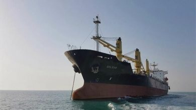 Photo of Iranian Cargo Ship Unloaded at Venezuelan Port