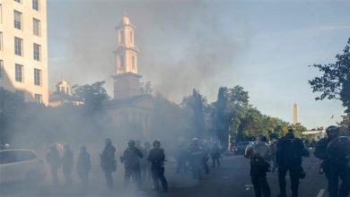 Photo of Satanic White House says has 'no regrets' about tear-gassing peaceful protesters