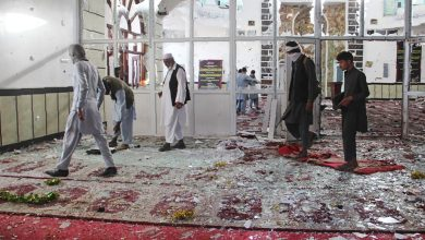 Photo of Bomb attack kills 4 at mosque in Afghan capital
