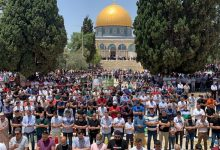 Photo of Tens of thousands attend Friday prayer at Aqsa Mosque
