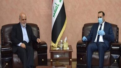 Photo of Iraqi minister hails Iran's full support for his country