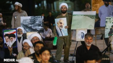 Photo of PHOTOS: Commemoration ceremony of Imam Khomeini [RA] held in Feyziyeh School