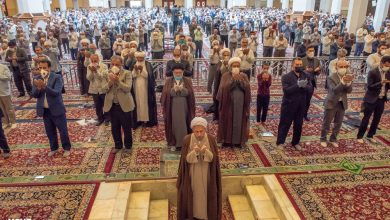 Photo of Friday Prayer in Shiraz after 100 days with health protocols in place
