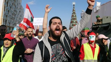 Photo of Anti-govt. protests restart in Lebanon against worsening economic woes