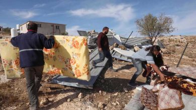 Photo of Illegitimate zionist regime demolishes Palestinian homes in West Bank