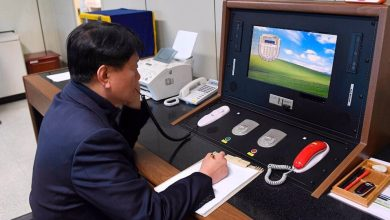 Photo of North Korea severs hotlines with South, citing 'treachery'