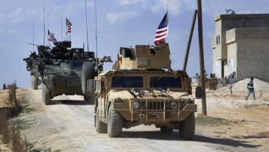 Photo of US military convoy intercepted by Syrian Army, villagers in northeast Syria