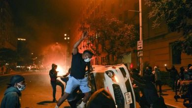 Photo of Nightly chaos grips US cities as 4,400 people arrested, troops fire on crowds