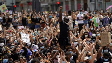 Photo of Global protests continue in solidarity with US anti-racist movement